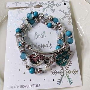 🌜3 for $25🌛Best Friends Stretch Bracelet Set